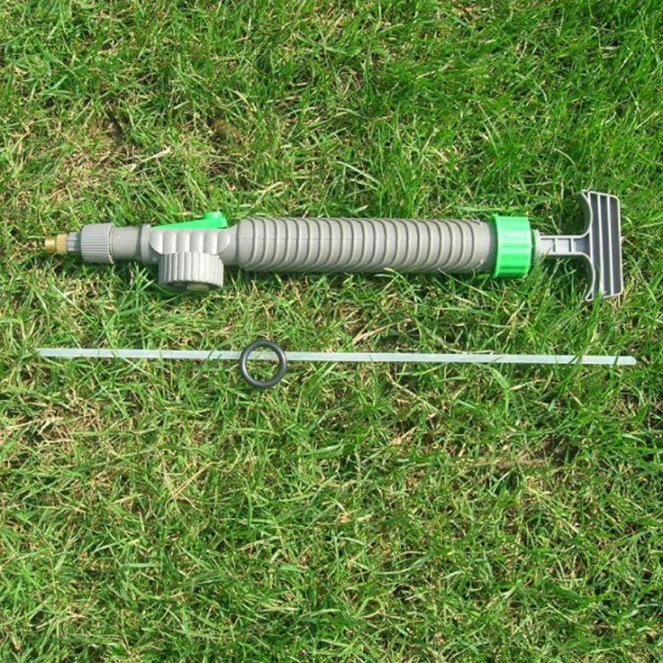 Nuovo Tipo di Pressione di Acqua A Spruzzo Spruzzatore di Pesticidi Testa Calda Mini Bottiglie di Succo di Interfaccia Trolley di Plastica Pistola Ad Acqua Spruzzatore Testa
