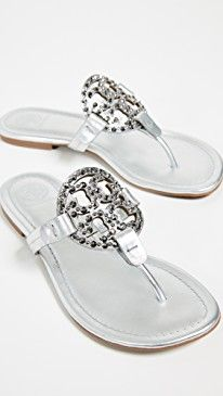 ae84666fce014 Tory Burch Miller Embellished Sandals in 2019
