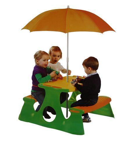 Kids Picnic Table Bench Chair Umbrella Wooden Garden Outdoor Children Furniture | eBay on Chiq £0.00 : Buy Trends on CHIQ.COM http://www.chiq.com/kids-picnic-table-bench-chair-umbrella-wooden-garden-outdoor-children-furniture-ebay