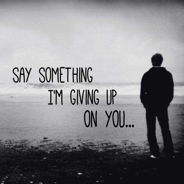 im giving up on life quotes - photo #27