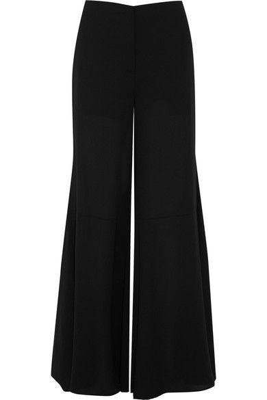 McQ Alexander McQueen - Chiffon Wide-leg Pants - Black - IT44