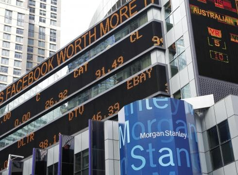 financial news stock ticker May 23, 2012, in New York.