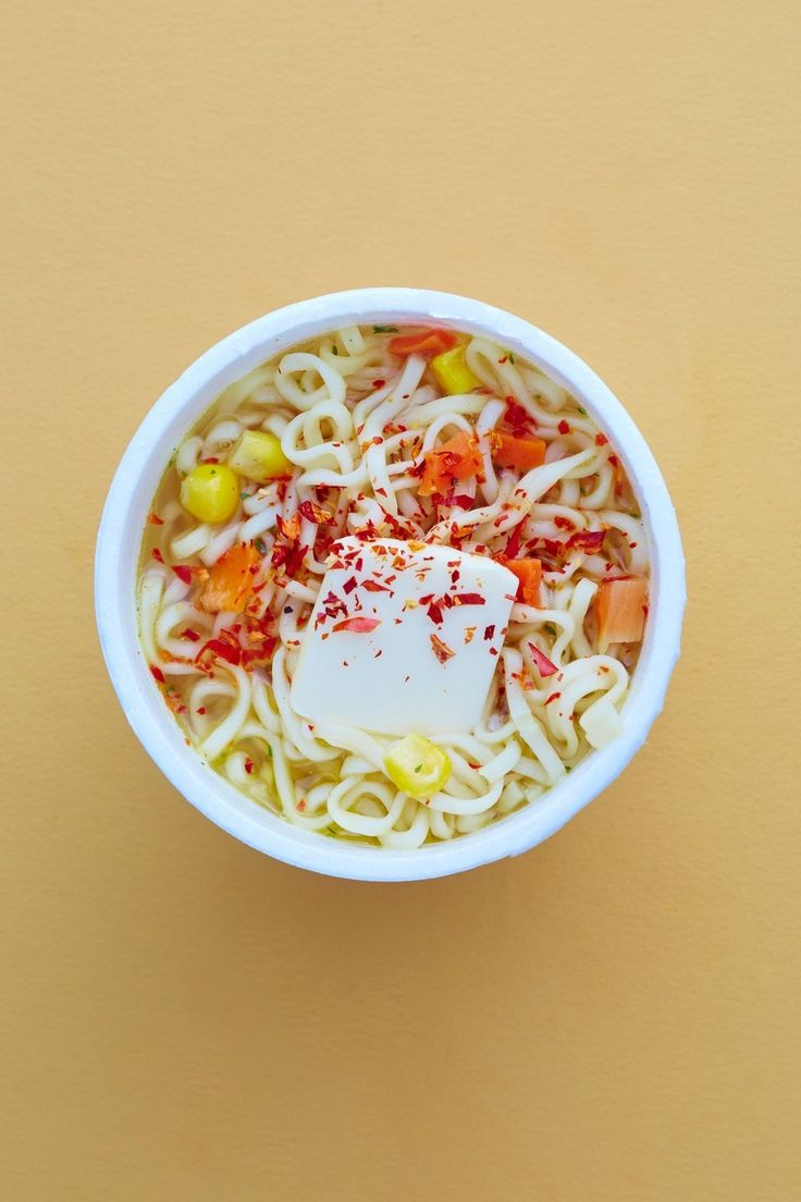 Hack Your Ramen with Butter and Chile Flakes