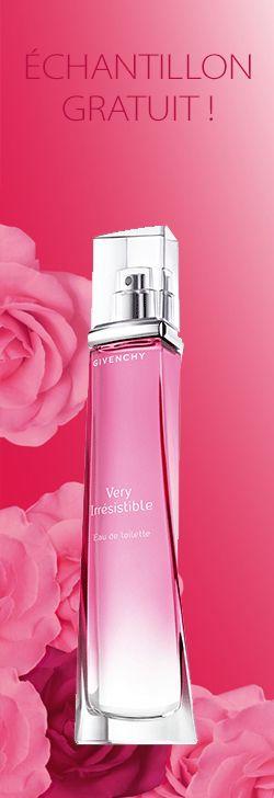 Échantillon de parfum Givenchy Very Irrésistible. http://rienquedugratuit.ca/produits-de-beaute/echantillon-parfum-givenchy/