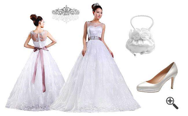 Türkische Brautkleider: http://www.fancybeast.de/tuerkische-brautkleider-mit-glitzer-hochzeitsoutfit/ #Türkisch #Brautkleider #Hochzeitsoutfit #Outfit #Hochzeitskleider #Hochzeit #Dress #Kleider Hochzeitsoutfit Türkische Brautkleider