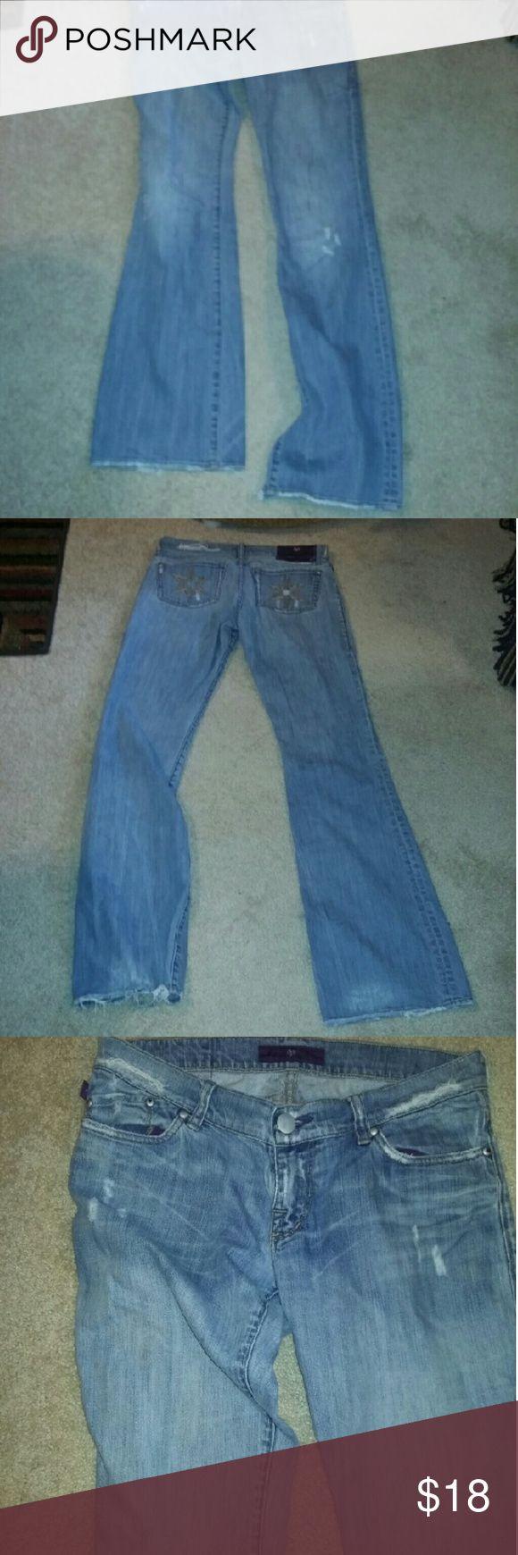 Spotted while shopping on Poshmark: Victiria Beckham Star distressed women jeans! #poshmark #fashion #shopping #style #Victoria Beckham #Denim