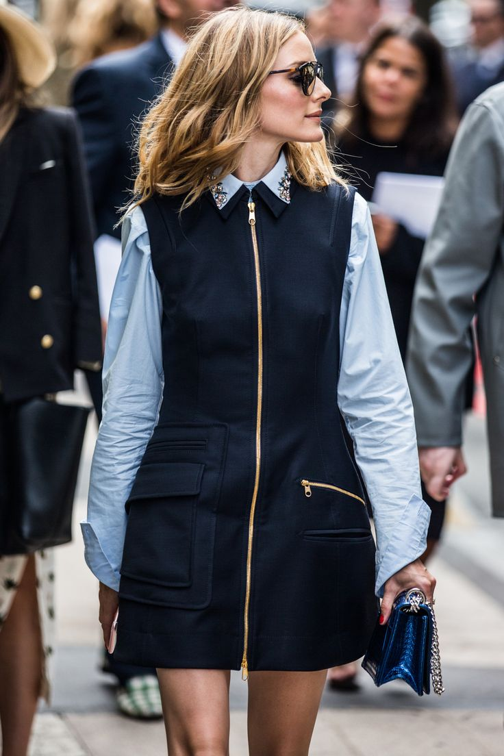 Olivia Palermo - Street looks at Haute Couture Week Fall/Winter 2016-2017 in Paris | Vogue Paris