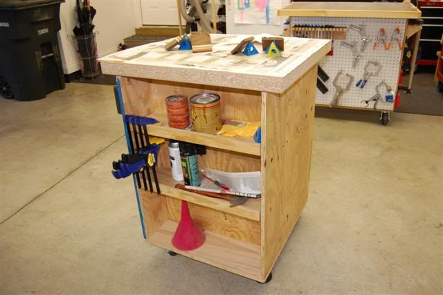 Evolution of a Shop #9: Mobile Carts...A Godsend in a small shop - by Cory @ LumberJocks.com ~ woodworking community