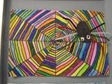 Simplify for Kindergarten  Artsonia Art Exhibit :: Rainbow Spiders