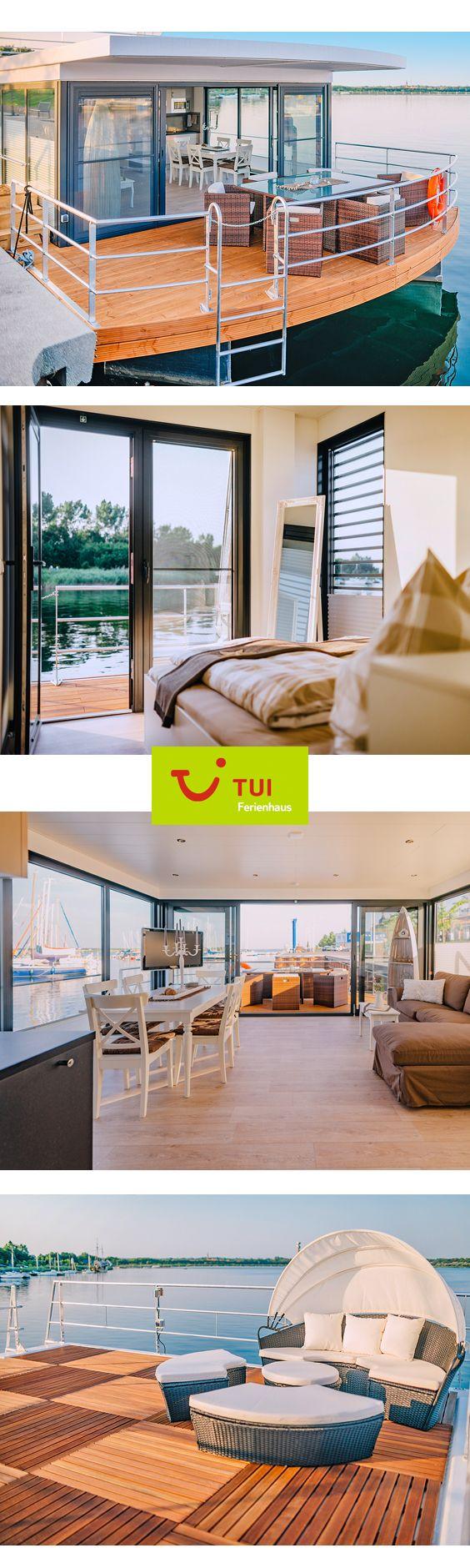 #Hausboot-Urlaub in der ersten Reihe: Das moderne …