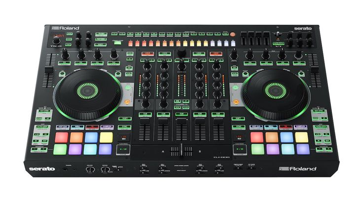 Serato and Roland announce the first DJ controller from Roland, the DJ-808. A…