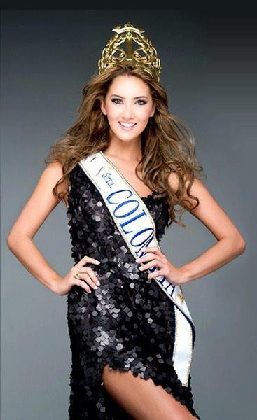Daniela Alvarez Miss Columbia 2012