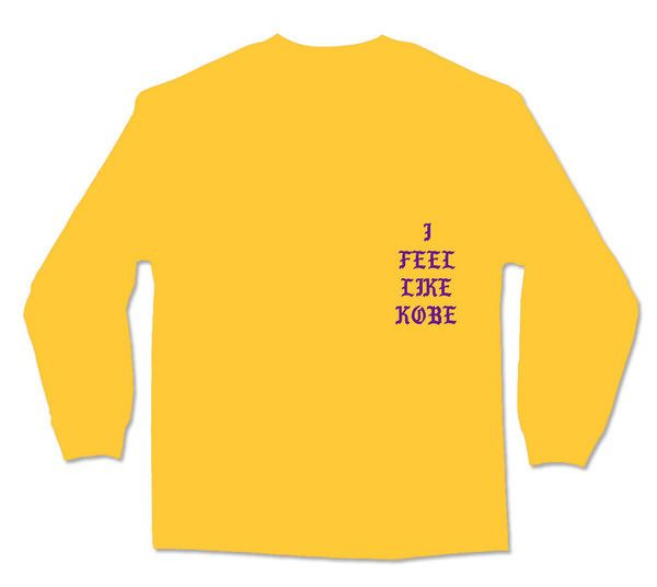 "Buy Kanye West's ""I Feel Like Kobe"" Shirt Now"
