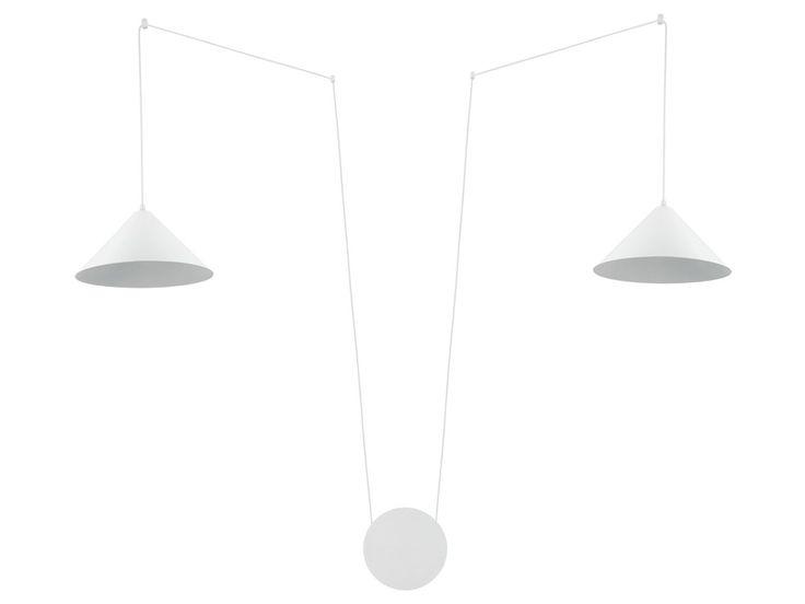 Suspension conique réglable en hauteur (5m) interrupteur tactile sur prise Somerset