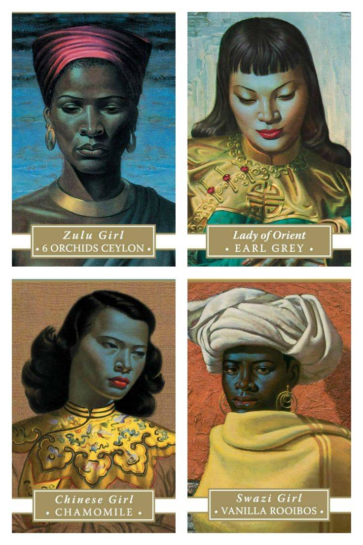 Our Tretchikoff Fine Teas have been hand-selected to elicit the ultimate sensory experience whilst contemplating the iconic artworks of Vladimir Tretchikoff.  #FineTea #Tretchikoff #Tea #Chinesegirl #SwaziGirl #ZuluGirl #LadyofOrient #art #artlovers #tastetheart