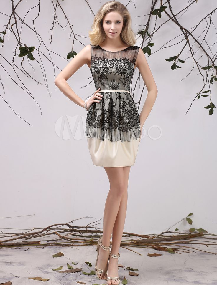 A-line Jewel Neck Lace Beautiful Fashion Dress For Mother of the Bride