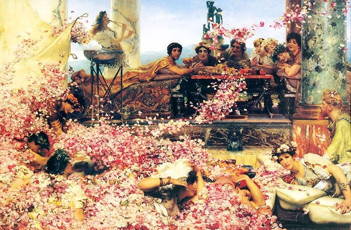 Alma - Tadema, Sir Lawrence - The Roses of Heliogabalus http://www.canvastar.com/index.php?cPath=118_167