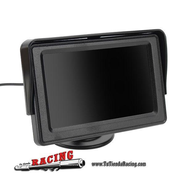 53,22€ - ENVÍO SIEMPRE GRATUITO - Kit Inalámbrico Visión Trasera Monitor de 4.3 Pulgadas TFT-LCD + Cámara Nocturna IR - TUTIENDARACING