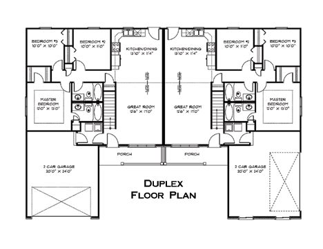 11 best future images on pinterest duplex plans for 3 story duplex floor plans