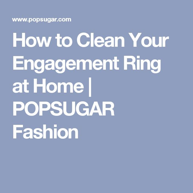 best 25 engagement ring cleaning hacks ideas on
