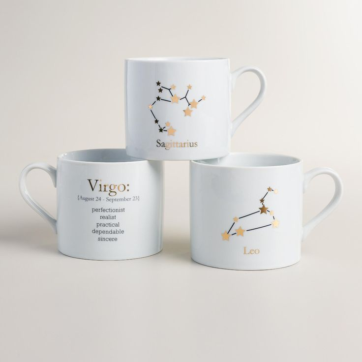 Zodiac Mug Collection