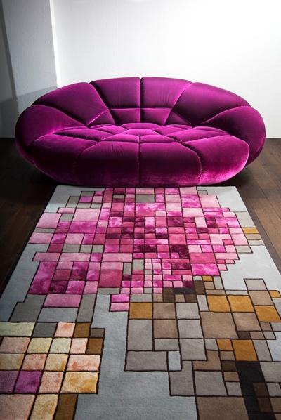 Schön Bretz Couch And Carpet, Colours Just Pop!