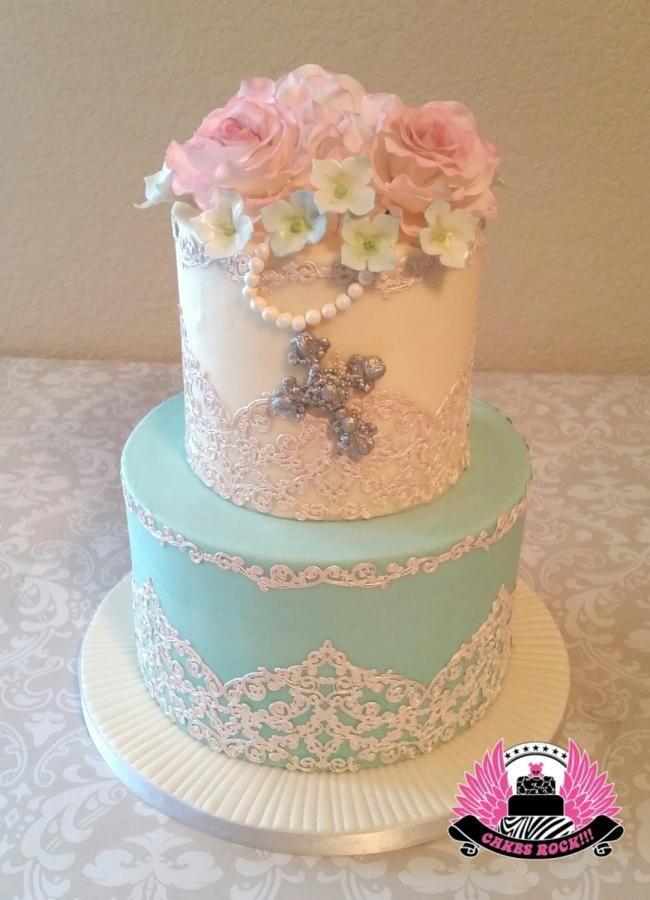 The 25+ best Girl baptism cakes ideas on Pinterest Baby ...