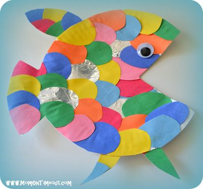 The Rainbow Fish reading activities