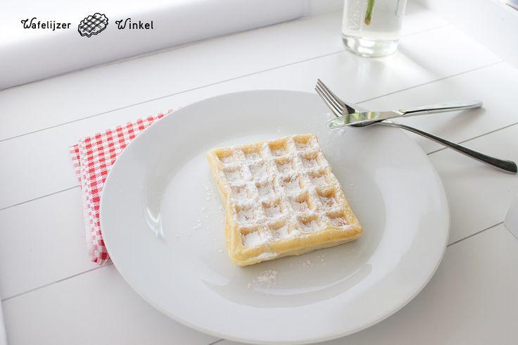 Ditmaal hebben we het recept voor Brusselse wafels van de beroemde vlaamse televisiekok Piet Huysentruyt uitgeprobeerd.