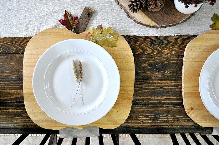 Pumpkin Plate Chargers