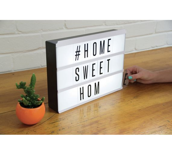 Buy Light Up Message Board at Argos.co.uk, visit Argos.co.uk to shop online for Novelty lighting, Home and garden gifts, Gifts