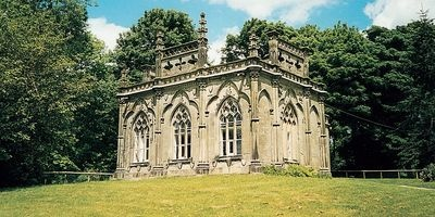 Holiday Cottages in Derbyshire... you could stay in a Gothic Temple or a cottage used in the TV series Peak Practice...
