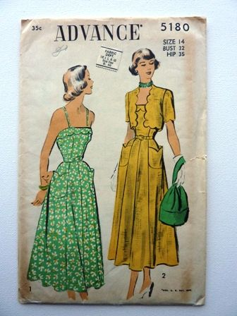 Advance - Vintage - Sewing Pattern - In my personal collection www.facebook.com/AnnaMareeCreatively