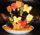 Checkout http://ediblecraftsonline.com/edible_creations/index.htm for other great fruit bouquets!