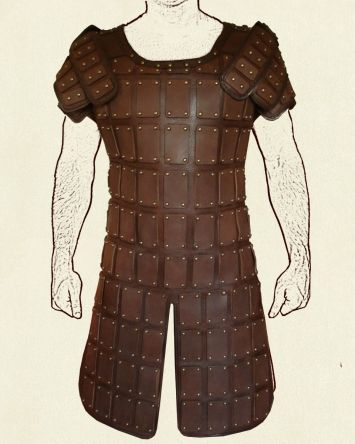 plated leather armor