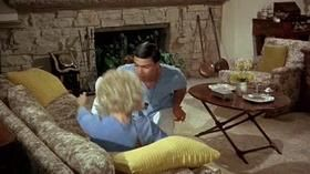 SEND ME NO FLOWERS (1964) ROCK HUDSON, DORIS DAY.