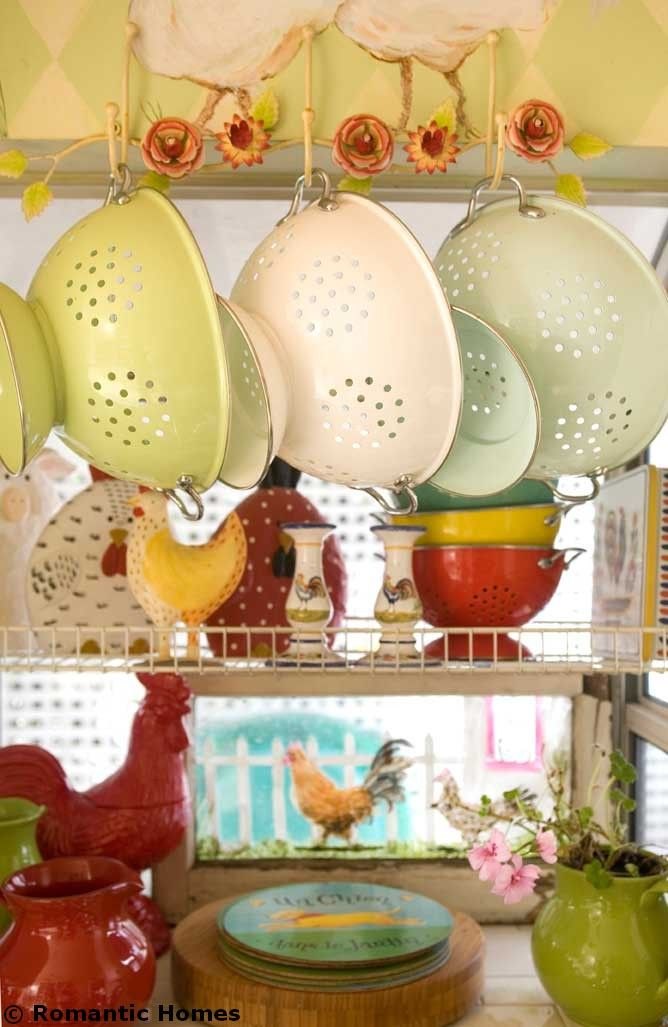 Hang pots, colanders and pans from above to save counter space. (Photo by Jaimee Itagaki)