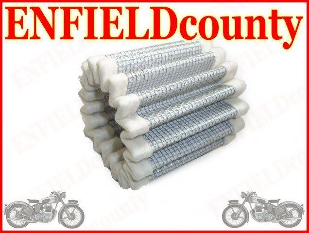 NEW ROYAL ENFIELD EARLY MODEL AIR FILTER ELEMENT 112133