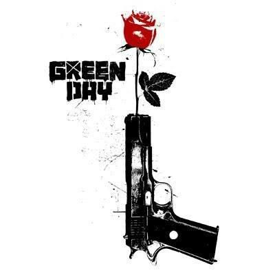 Green day ~ classic heavy metal psychedelic  rock music poster  ☮~ღ~*~*✿⊱  レ o √ 乇 !! ~