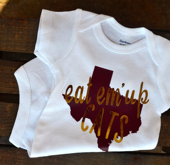 Texas State University Onesie® Texas State Bobcats by TheJudeBug