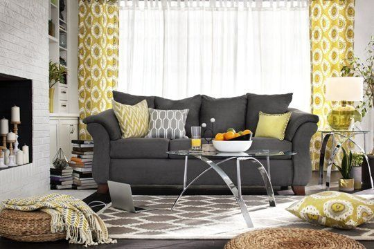 Like the decor in pin also.. The Space Planning & Measuring Tips You Need — Value City Furniture