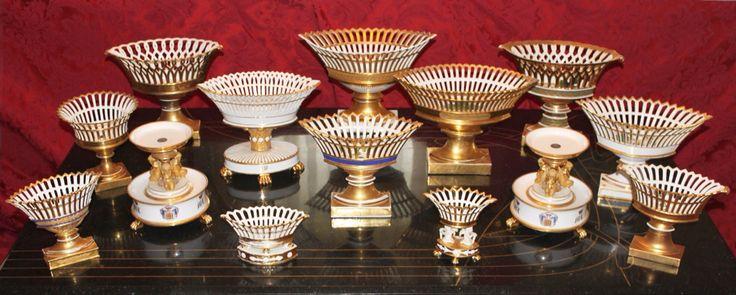 Collezione:PORCELLANA. MANIFATTURA VECCHIA PARIGI 1820