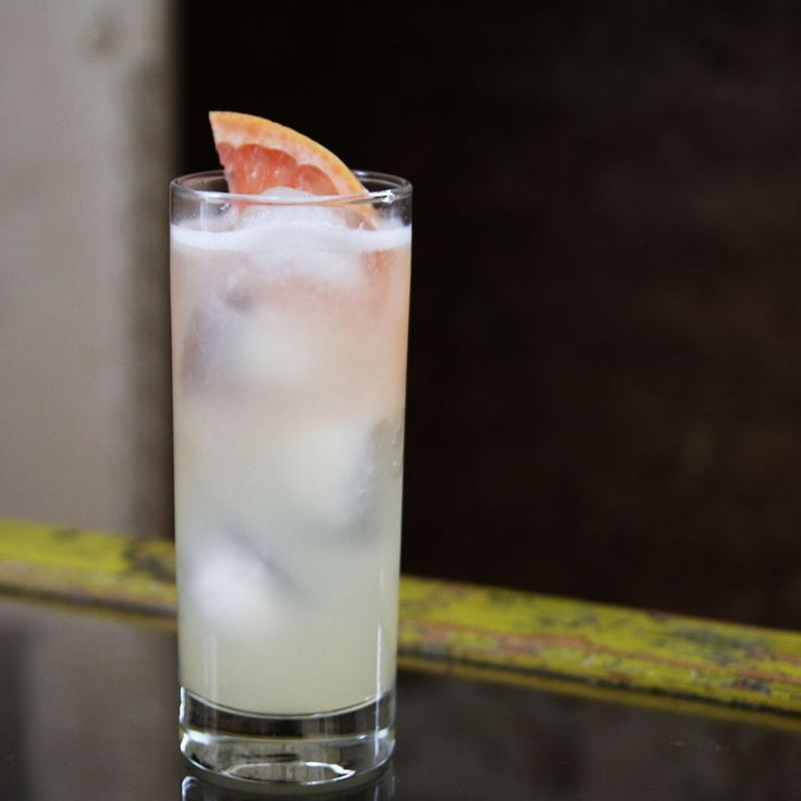 Ginger Paloma (ginger liqueur, tequila, grapefruit and lime juices) | FWx