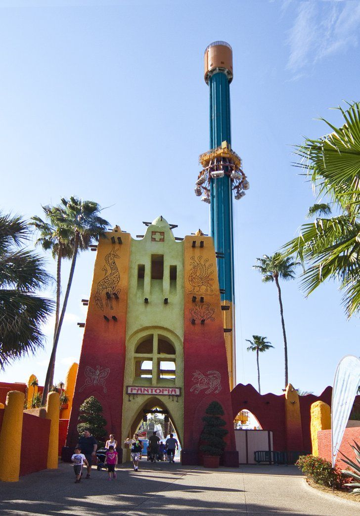 Pin for Later: 11 New, Must-Ride Amusement Park Attractions Falcon's Fury (Busch Gardens, Tampa, FL)