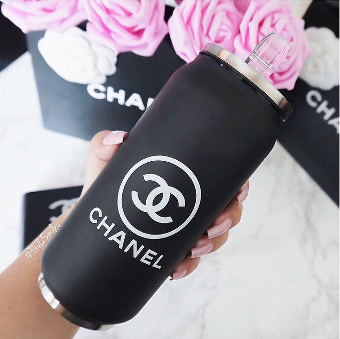 Chanel vacuum flask bottle tumbler cup.  www.shefabulous.se