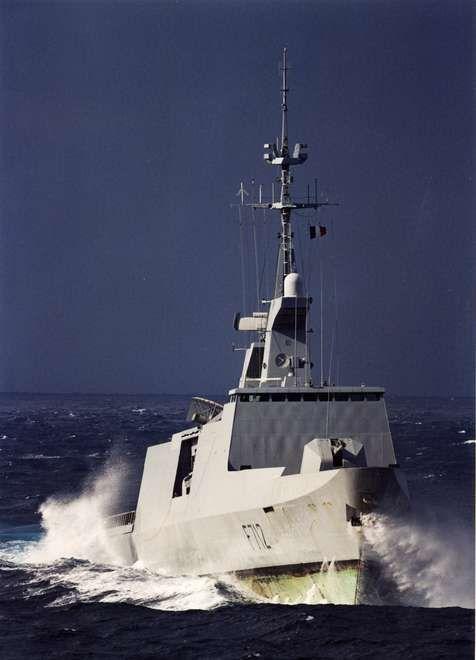 French Marine Nationale Frégate Type La Fayette © Marine nationale