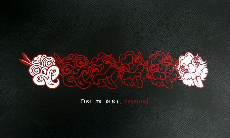 Tiki to Diki Print | Shane Hansen