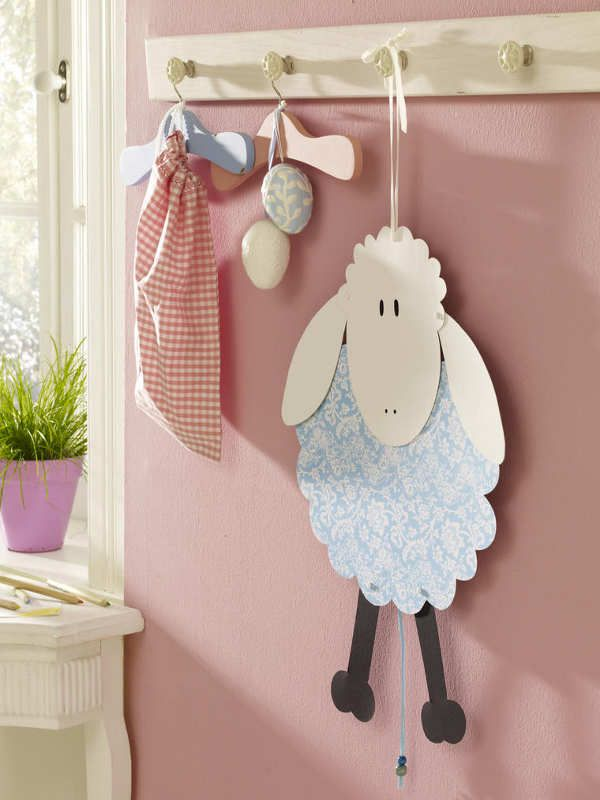 Little Sheep Craft (with pattern)