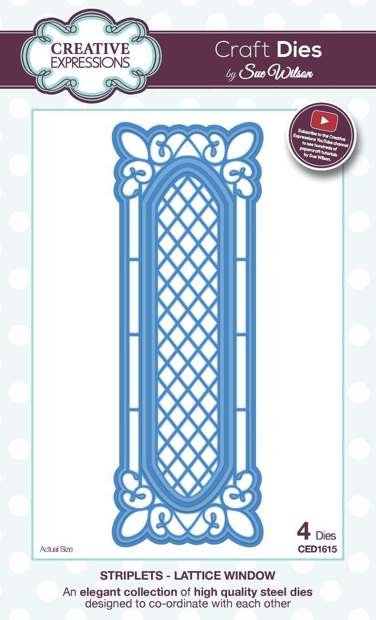lattice window - striplet