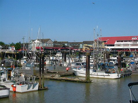 This brings back memories of family and fresh seafood. Famous Steveston docks in Richmond BC